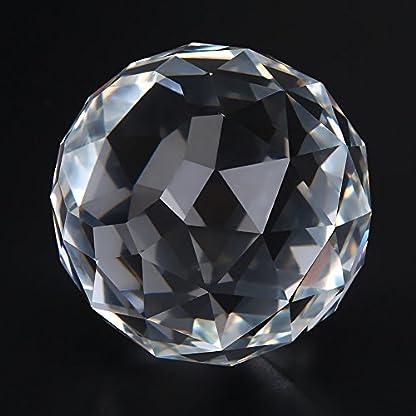 HEEPDD-Klare-Kristallglaskugel-60-80mm-durchscheinend-facettierte-anstarrende-Kugel-Klare-Kristallkugelprismen-Glaskugel-Suncatcher-Haus-Hotel-Dekor-Hardware-Beschlge
