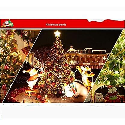 DWHX-Scharnier-Grn-Knstlicher-Weihnachtsbaum-21M-69-Ft-Umweltfreundlich-Christbaum-Metallstnder-Geflschte-Weihnachtsbaum-Mit-Tannenzapfen-Dekoration