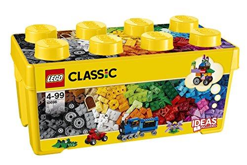 lego classic 10696 mittelgro e bausteine box lernspielzeug g nstig kaufen bei. Black Bedroom Furniture Sets. Home Design Ideas