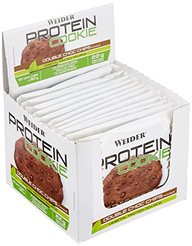Weider Protein Cookie, Double Choc Chips, 1080 g