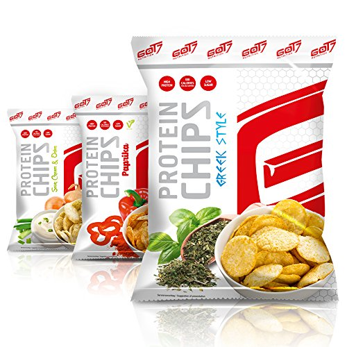 GOT7 Nutrition High Protein Chips, Greek Style 6x50g