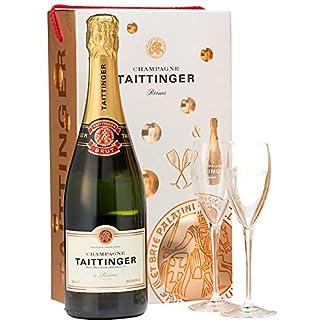 Taittinger-Champagner-075l-Brut-Rserve-mit-zwei-Glser-im-Geschenkkarton-Geschenkset