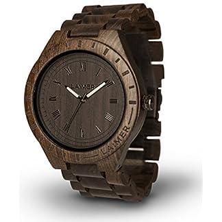LAiMER-Holzuhr-BLACK-EDITION-Herren-Armbanduhr-aus-Sandelholz-fr-einzigartigen-Tragekomfort-und-Lifestyle-natrlich-federleicht-Sdtirol