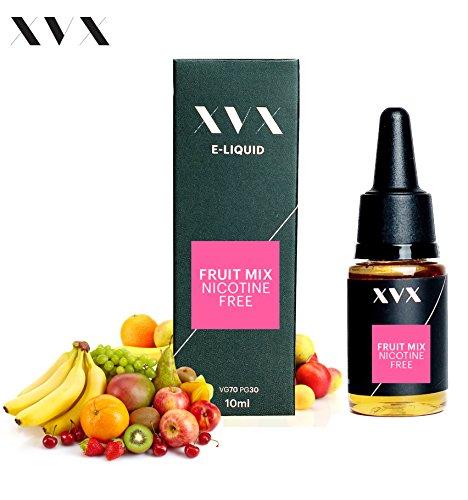 XVX E-Liquid  Frucht-Mix Geschmack  Elektronisches Liquid Für E-Zigarette  Elektronische Shisha Liquid  10ml Flasche  Nadelspitze  Präzise Befllung  Wähle Deinen Lifestyle  Neu Für 2016  Digitaler Rauch  Nikotinfrei  Tabakfrei
