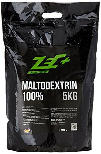 ZEC+ MALTODEXTRIN | wasserlösliches Kohlenhydratgemisch | ideal für Hardgainer | perfekt für die Massephase | Regeneration | Muskelaufbau | MALTO | Masse aufbauen| 5000g