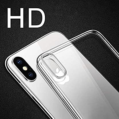 iPhone-XS-Handyhlle-iPhone-X-Schutzhlle-otutun-iPhone-XS-Crystal-Schutzhlle-TPU-Bumper-Cover-Kratzfeste-Weich-Silikon-Hlle-fr-Apple-iPhone-XSiPhone-X-Case-Cover-Transparent