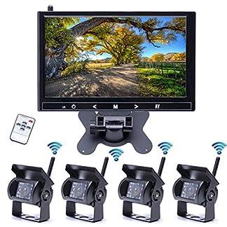 Z-DCYX-9-Zoll-Drahtlose-Umkehrrckansicht-Anzeigen-Drahtlose-Kamera-HD-berwachungsbildschirm-Front-Und-Rckkamera-Drahtloser-Fahrzeug-HD-Bildschirm-Rckgngig-Macht