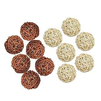 P-Prettyia-12-Stcke-Wicker-Rattan-Balls-Dekorative-Kugeln-Vase-Fllstoffe-Fr-Handwerk-Projekt-Hochzeit-Tischdekoration