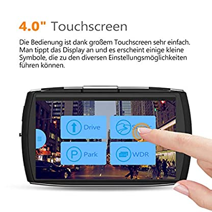 Z-Edge-Dual-Dashcam-Autokamera-Ultra-HD-1440P-mit-Rckkamera-Full-HD-1080P-Touchscreen-40-Zoll-Loop-Aufnahme-WDR-G-Sensor-Bewegungserkennung-Parkberwachung-inkl-32GB-MicroSD-Karte