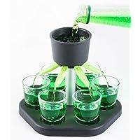 Schnapsquelle-mit-6-Glsern-Trinkspiel