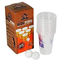 Beer-Pong-Spiel-12-Becher-2-Blle-TOP-SET