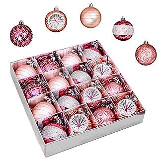 Victors-Workshop-Weihnachtskugeln-16-TLG-7cm-Plastik-Christbaumkugeln-Set