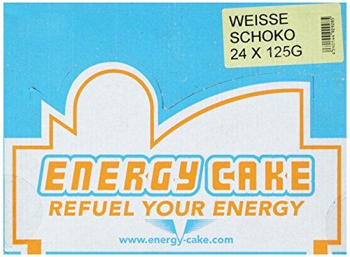 E.L.F Energy Cake – Weiße Schokolade 24x125g, 1er Pack (1 x 3 kg)