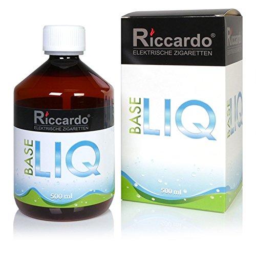Riccardo Basisliquid Balance, 50 % PG / 50 % VG, 99,5 % Ph. Eur, 500 ml, Basis Liquid 0,0 mg Nikotin