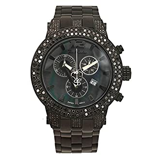Joe-Rodeo-Diamant-Herren-Uhr-BROADWAY-schwarz-65-ctw