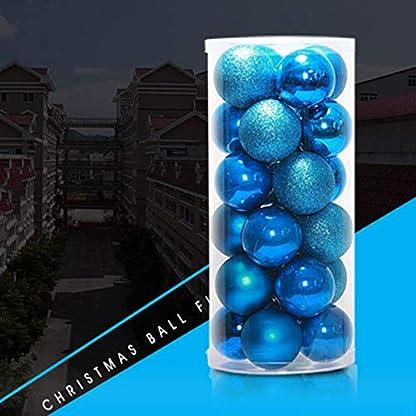VIGE-24-STCKE-4-cm-6-cm-8-cm-Moderne-Glnzende-Weihnachtsbaum-Ball-Kugeln-Party-Hochzeit-Hngende-Verzierung-Weihnachtsdekoration-Liefert-Weihnachten-deko