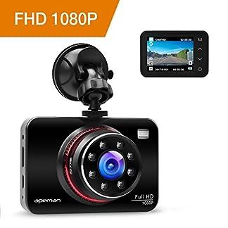 apeman-Dashcam-Full-HD-Autokamera-1080P-DVR-mit-170-Weitwinkelobjektiv-Infrarotfunktion-WDR-Bewegungserkennung-Parkmonitor-Loop-Aufnahme-Nachtsicht-und-G-Sensor