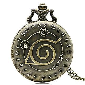 Vintage-Bronze-Naruto-Quarz-Halskette-Anhnger-Taschenuhr-amphoe-Chian-Unisex-Geschenk