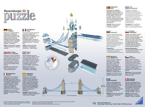 Ravensburger-12559-Tower-Bridge-London-3D-Puzzle-Bauwerke-216-Teile