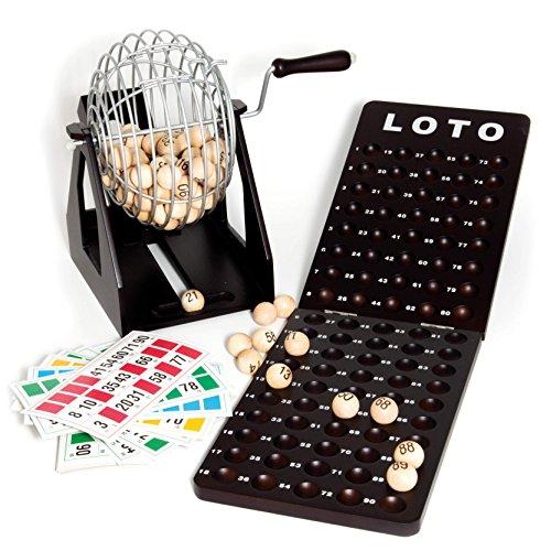 Frankreich-Karten-Kartenspiel-Metall-Kugel-Bingo-und-Lotto