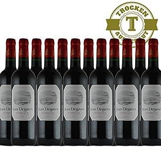 Rotwein-Jean-Degaves-Vin-de-Bordeaux-12x075L