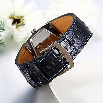 JewelryWe-Herren-Armbanduhr-Leder-Legierung-Zwei-Zeitzone-Kalender-Analog-Quarz-Sportuhr-Blau-Leder-Armband-Uhr-mit-Digital-Zifferblatt
