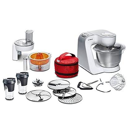 Bosch-MUM58W56DE-CreationLine-Kchenmaschine-1000-Watt-39-Liter-edelstahl-Rhrschssel-Personal-Blender-05-Liter-zum-Mixen-umfangreiches-Zubehr-wei