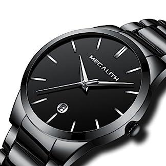 Herren-Armbanduhr-Edelstahl-Mnner-Luxus-Design-30M-Wasserdicht-Kalender-Analog-Uhr-Schwarz-Silber-Geschft-Lssig-Uhren-Schwarz-Zifferblatt-mit-Frei-Uhrenarmband-Werkzeug