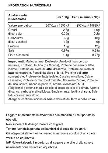 BiotechUSA Muscle Mass Erdbeere 2270 g