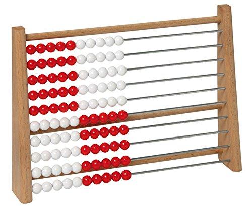 Betzold-85145-Schler-Rechenrahmen-ZR-100-Rechnen-lernen-bis-100-Rechenschieber-aus-Holz-Abakus