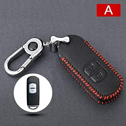 Tuqiang-Mazda-Leather-Key-Case