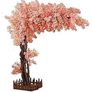 Wallpaper-YC-Knstlicher-Kirschbaum-groe-Blumen-Anlage-Baum-wnschend-Hotel-Hochzeits-Innenraum-knstlicher-Baum