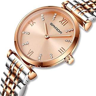 CIVO-Damen-Uhren-Edelstahl-Damen-Uhr-Wasserdicht-Luxus-Mode-Elegant-Armbanduhren-Lssig-Beilufig-Quarzuhr-fr-Frau-Lady-Teenager-Mdchen
