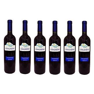6x-Tsantali-Chalkidiki-Rotwein-a-750-ml-roter-griechischer-trockener-Rotwein-Rot-Wein-trocken-6er-Set-2-Probier-Sachets-Olivenl-aus-Kreta-a-10-ml