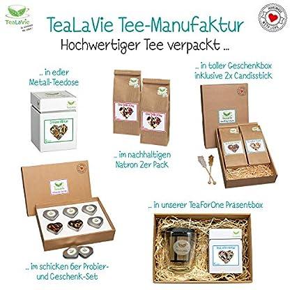 TEALAVIE-Tee-Adventskalender-2019-24-hochwertige-lose-Tees-in-edlen-Teedosen-Magnet-Klappschachtel-aus-Naturpapier-Handmade-with-love-Teekalender-Weihnachts-Kalender-220g