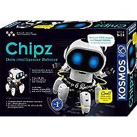 KOSMOS-Chipz-Dein-intelligenter-Roboter-mit-6-Beinen-folgt-Bewegungen-weicht-Hindernissen-aus-Licht-und-Soundeffekte-Roboter-Spielzeug-Bausatz-Experimentierkasten-fr-Kinder-ab-8-Jahren