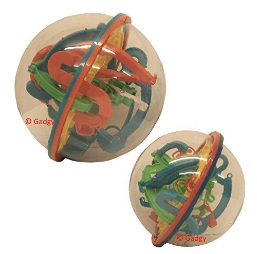 Gadgy-Maze-Ball-Gro-3D-Puzzle-Kugel-Labyrinth-118-Etappen