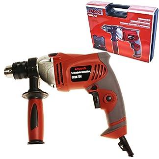 Arebos-Profi-Schlagbohrmaschine-Bohrhammer-Bohrmaschine-in-einem-Koffer-plus-Bohrbits-SCID0701D