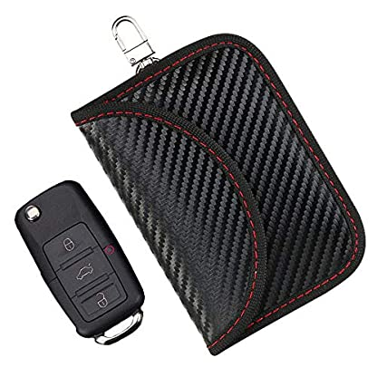 flintronic-Mini-RFID-Keyless-Go-Schutz-Autoschlssel-Faraday-Tasche-Auto-Signal-Keyless-Blocker-Schutzhllen-fr-Kreditkarten-Bankkarten-WiFi-GSM-LTE-NFC-RFID-Schutzhlle-2-Stck