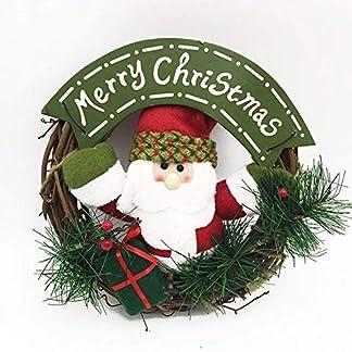 byou-WeihnachtskranzWeihnachten-Kranz-Wiederverwendbar-Merry-Christmas-und-Weihnachtsmann-Trkranz-Adventskranz-fr-Tr-und-Fenster-Dekoration-Weihnachts-Party-Zubehr-22-22-4cm
