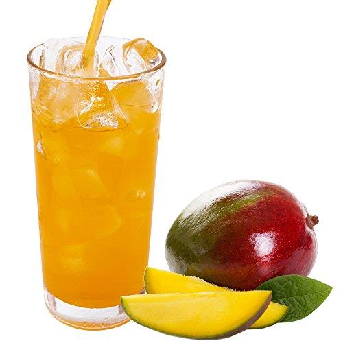 Mango Geschmack extrem ergiebiges Getränkepulver für Isotonisches Sportgetränk Energy-Drink ISO-Drink Elektrolytgetränk Wellnessdrink