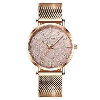 Ultradnne-Uhren-fr-Frauen-wasserdichte-Mesh-mit-Gold-Mode-Damenuhr-Analoge-Quarz-weibliche-Armbanduhr-Geschenk