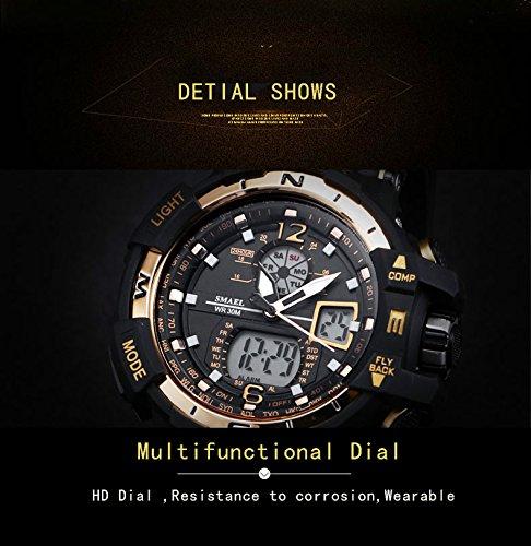 ANALOG-DIGITAL-Armbanduhr-Military-Sport-Herren-Armbanduhr-Dual-Zifferblatt-Business-Casual-Multifunktions-Elektronische-Handgelenk-Uhren-bestndig-Armbanduhr