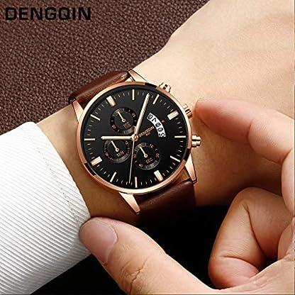 DIKHBJWQ-Luxuxquarz-Uhr-Sport-Quarz-Uhren-Militr-Armbanduhren-Edelstahl-Smartwatch-Dial-Armband-Lederarmband-Armbanduhr-Fitness-Tracker-Analog-Digital-Weckerfr-Herren