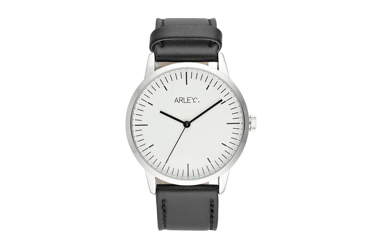 Arley-Unisex-Analog-Quarz-Uhr-mit-Leder-Armband-ARL902