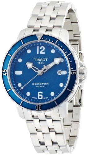 Tissot-Herren-Armbanduhr-Seastar-1000-Auto-Edelstahl-T0664071104700