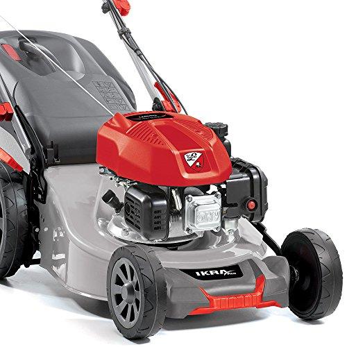 Benzin-Rasenmher-Tonino-Lamborghini-Mulcher-PL-4814-TL-4-Takt-Motor-22kW-140m-Schnittbreite-46cm-Radantrieb