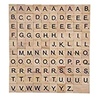 200100-Stck-Holz-Scrabble-Fliesen-Black-Letters-Numbers-Board-Crafts-Ideal-fr-Crafting-Anhnger-Rechtschreibung