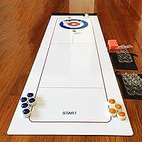 Dream-cool-Shuffleboard-Tisch-und-Curling-Set-Tischspiel-Curling-Ball-Unterhaltungsspiele-Tisch-Curling-Spiel-Familienspiele-fr-Kinder-und-Erwachsene