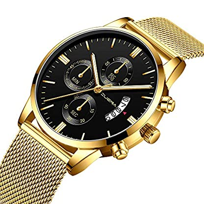 letter54-Swatch-Uhren-Damen-Herren-Uhren-Angebote-Outdoor-Uhr-Automatik-Fitness-Watch-Fashion-Armband-Fitness-Uhr-Rund-Herrenmode-Sport-Edelstahl-Gehuse-Lederband-Quarz-Analog-Armbanduhr